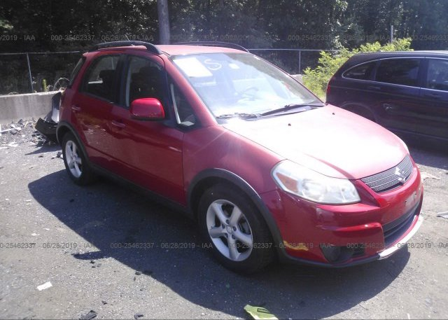 JS2YB413775111919, Salvage - Greater Than 75% red Suzuki Sx4 at