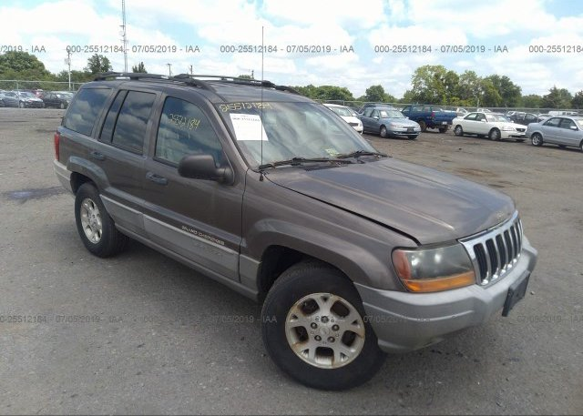 Inventory #233599726 2000 JEEP GRAND CHEROKEE