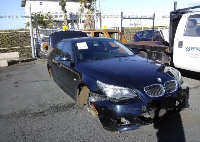 Inventory #596449865 2008 BMW 550