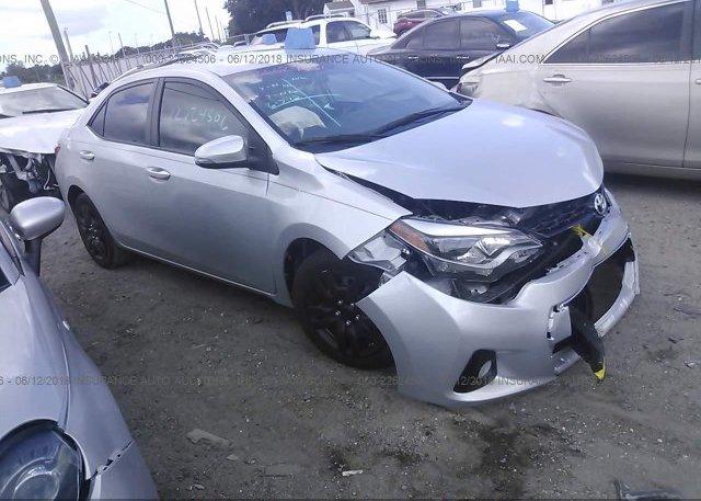 Inventory #613822374 2015 Toyota COROLLA