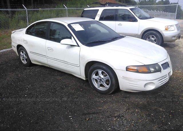Inventory #664687153 2001 Pontiac BONNEVILLE