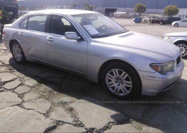 Inventory #282109637 2002 BMW 745