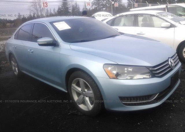 Inventory #903044711 2013 Volkswagen PASSAT