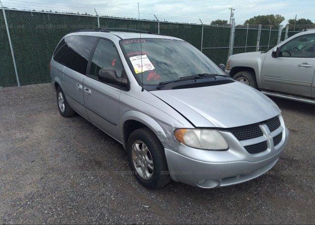 Inventory #343105425 2002 Dodge GRAND CARAVAN