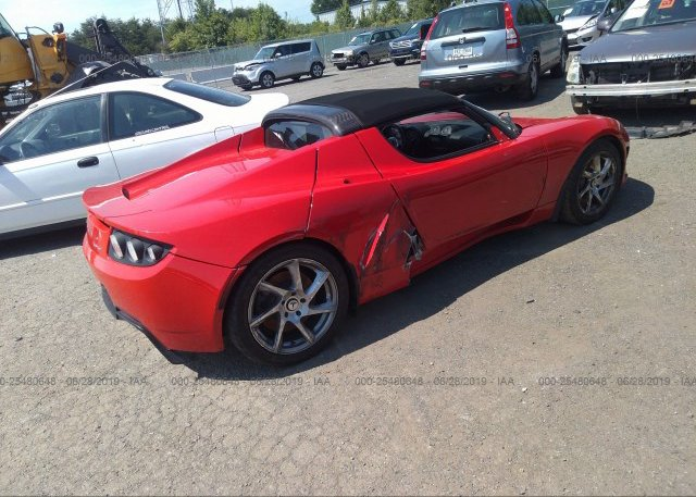 Bidding Ended On 5yjre1a37b1001297 Salvage Tesla Roadster