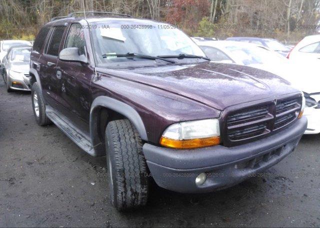 Inventory #407622221 2003 Dodge DURANGO