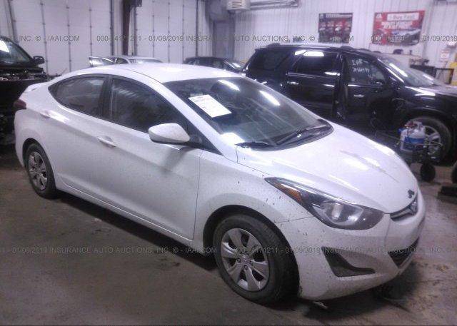 Inventory #389557618 2016 Hyundai ELANTRA