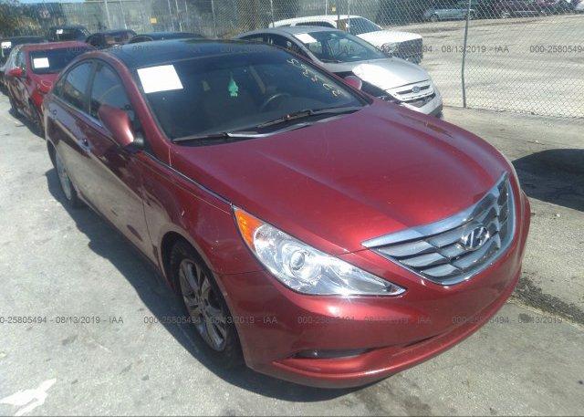 Inventory #853896021 2012 Hyundai SONATA