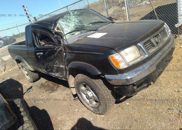 1N6ED26T0YC392184, Salvage black Nissan Frontier at GRENADA