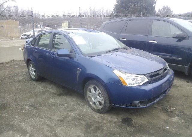 Inventory #639182739 2008 FORD FOCUS