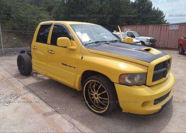Dodge Ram Srt10 For Sale >> 3d3ha18h75g740249 Clear Yellow Dodge Ram Srt10 At Bessemer