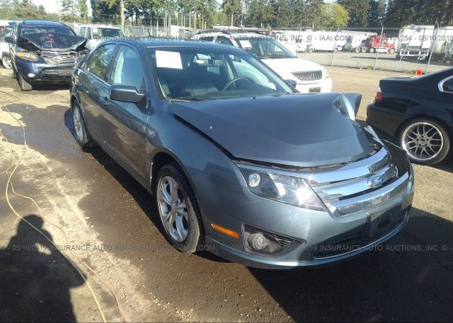 Inventory #759695749 2012 FORD FUSION