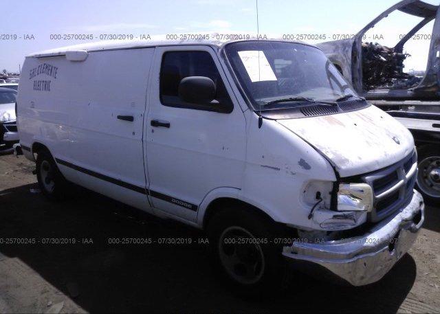 Inventory #624078703 2003 Dodge RAM VAN