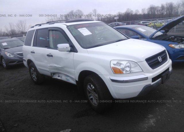 Inventory #428183431 2005 Honda PILOT