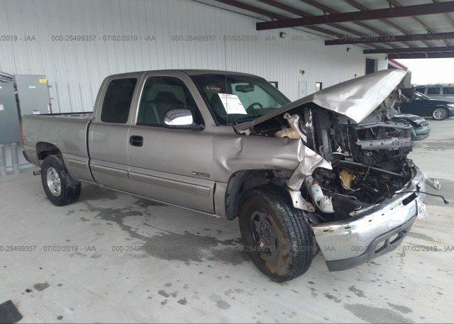 Inventory #925020277 2002 Chevrolet SILVERADO