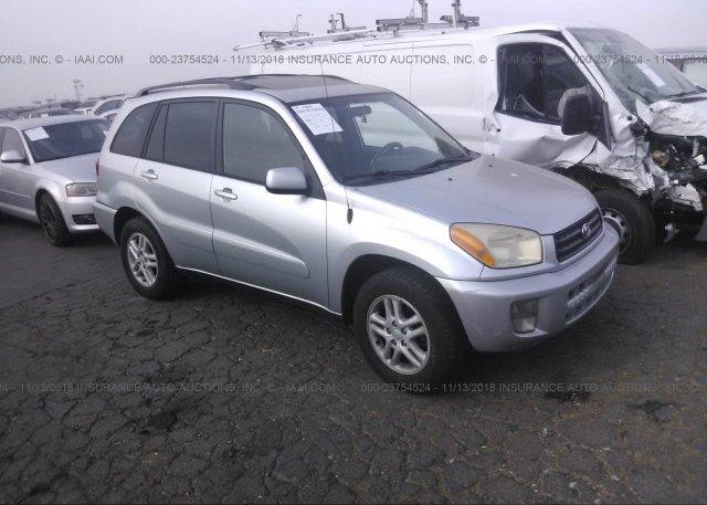 Inventory #562702203 2003 Toyota RAV4