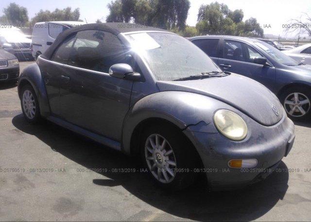 Inventory #857469831 2004 Volkswagen NEW BEETLE