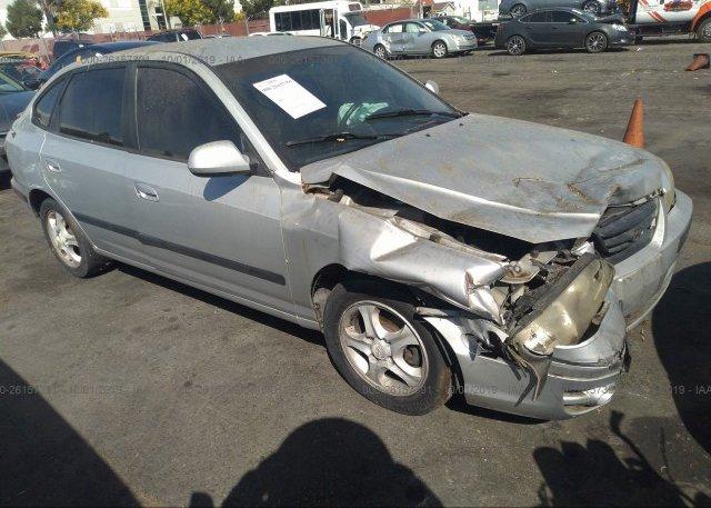 Inventory #901071427 2004 Hyundai ELANTRA