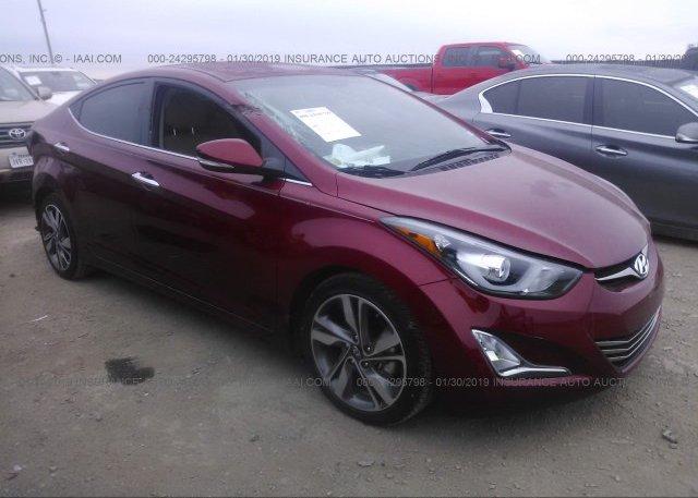 Inventory #215317990 2014 Hyundai ELANTRA