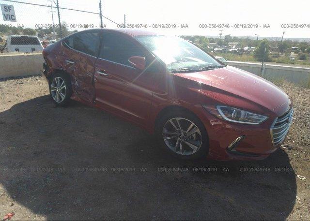 Inventory #112026706 2017 Hyundai ELANTRA