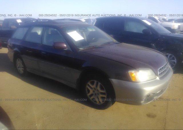 Inventory #828188351 2000 Subaru LEGACY