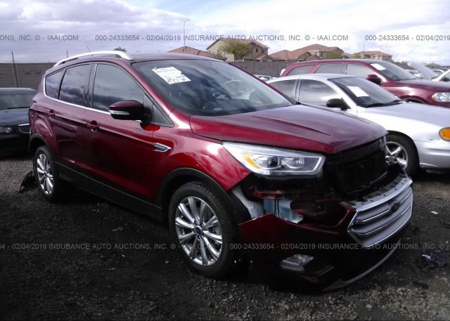 Inventory #325170302 2017 FORD ESCAPE