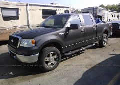 2007 FORD F150 - 1FTPW14V57FB44515 Right View