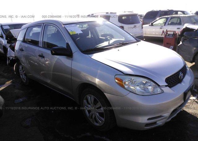 Inventory #742685503 2003 Toyota COROLLA MATRIX