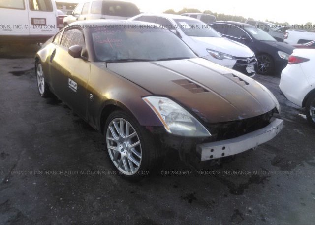 Jn1az34d23t101524 Salvage Title Red Nissan 350z At Houston Tx On