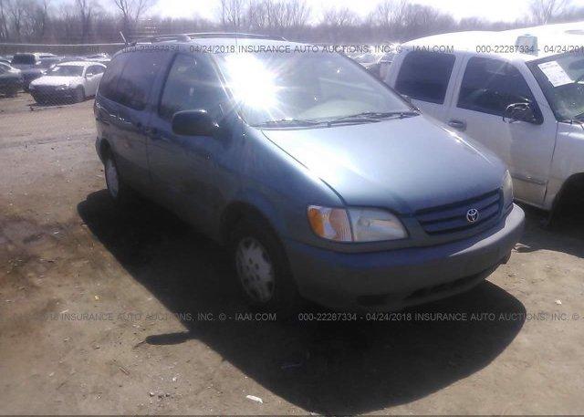 Inventory #776151024 2002 Toyota SIENNA