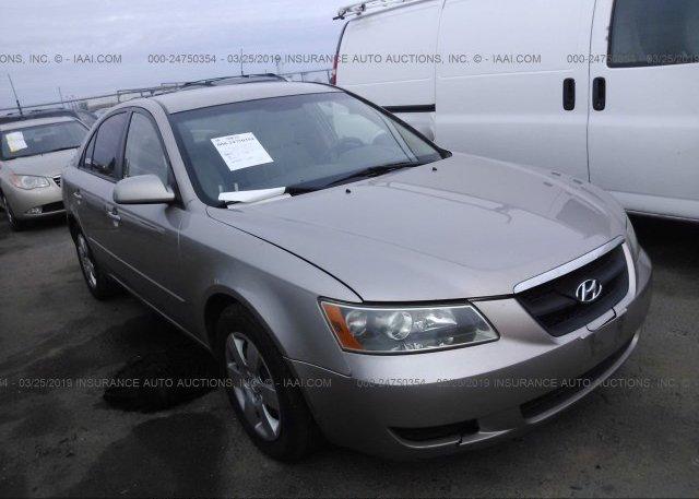Inventory #243014505 2007 Hyundai SONATA