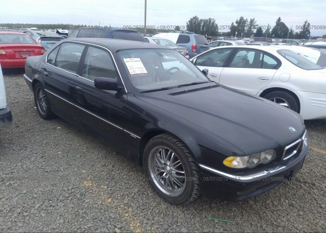 Inventory #550606709 2001 BMW 740