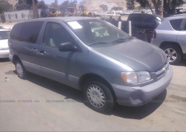 Inventory #916361545 1999 Toyota Sienna