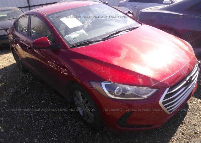 Inventory #182215423 2017 Hyundai ELANTRA