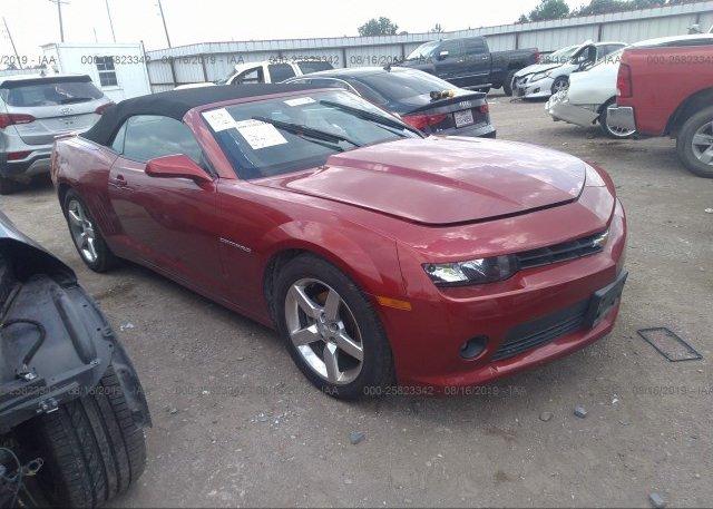 Inventory #648190680 2015 Chevrolet CAMARO