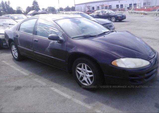Inventory #110780496 2004 Dodge INTREPID
