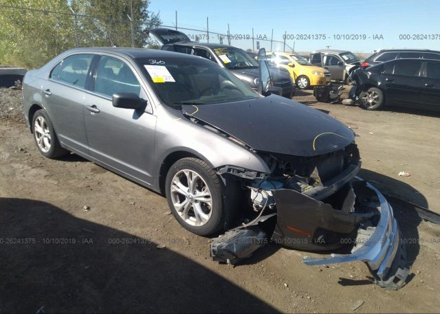 Inventory #710095820 2012 FORD FUSION