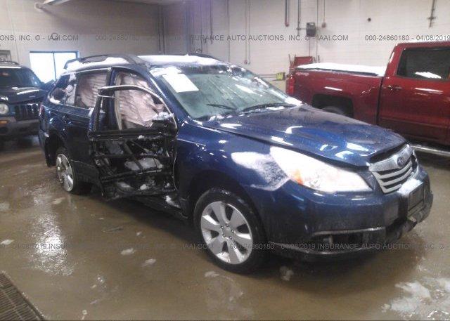 Inventory #812495572 2011 Subaru OUTBACK