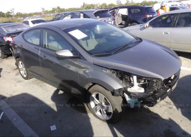 Inventory #761832552 2013 Hyundai ELANTRA