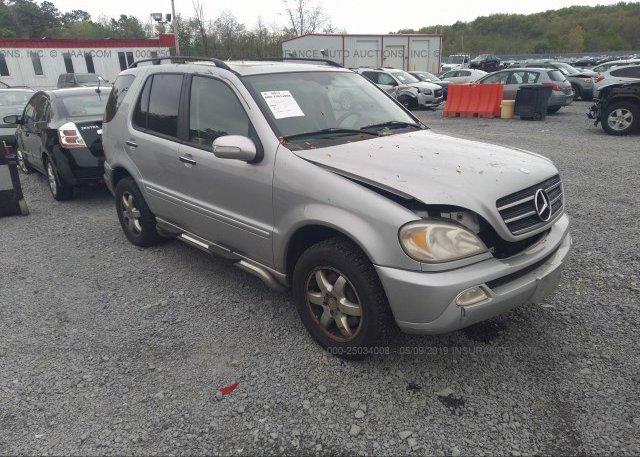 Inventory #797192239 2003 Mercedes-benz ML