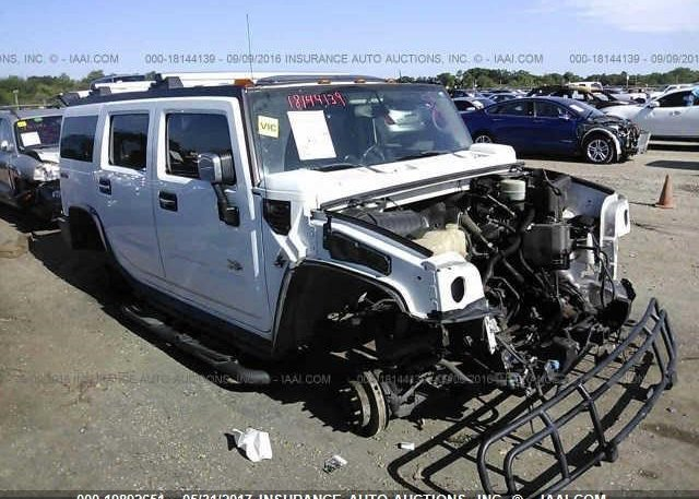 5grgn23ux4h116113 Permit To Dismantle White Hummer H2 At New