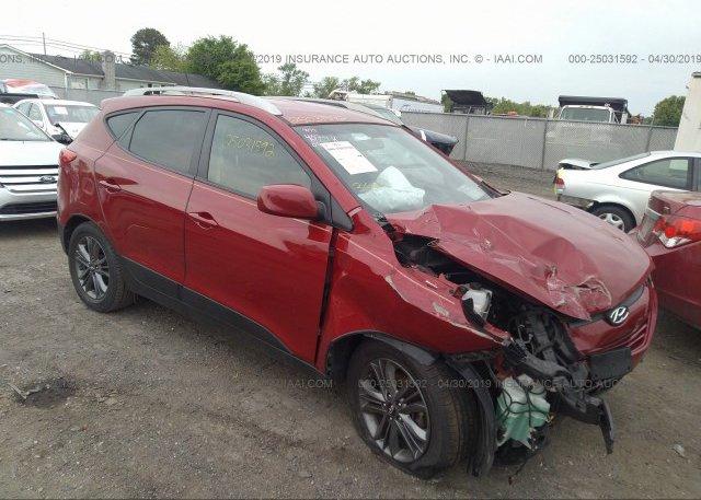 Inventory #491972603 2015 Hyundai TUCSON