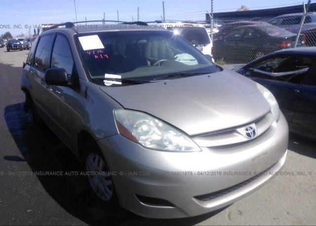 Inventory #843567892 2006 Toyota SIENNA