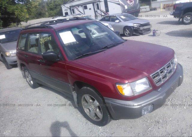 Inventory #740363420 1999 Subaru FORESTER