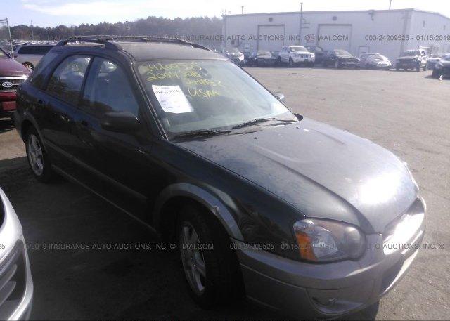 Inventory #478929644 2004 Subaru IMPREZA