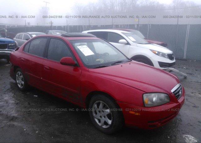 Inventory #720013871 2005 Hyundai ELANTRA