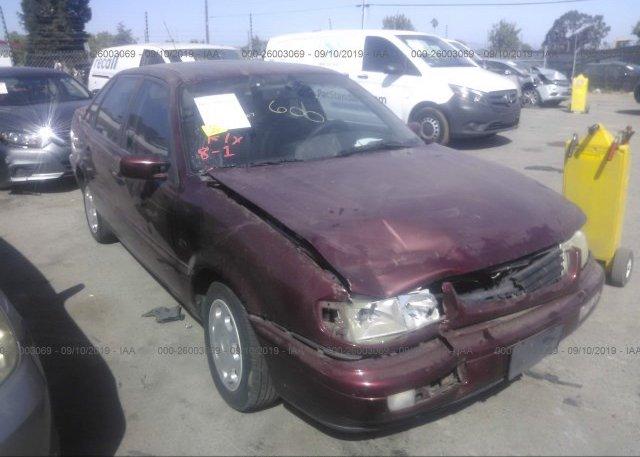 Inventory #289944865 1997 Volkswagen PASSAT