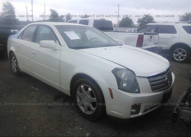 Inventory #737206645 2003 Cadillac CTS