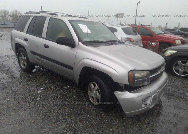 Inventory #643362808 2005 Chevrolet TRAILBLAZER