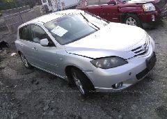 2006 Mazda 3 - JM1BK144961433020 Left View